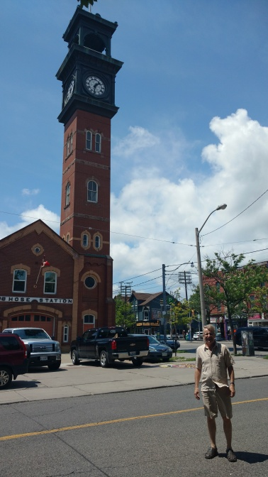 The fire tower on College Street that features in my work