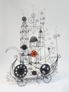 014.  SO THIS IS HOW IT WORKS - A Prayer Machine by JAMES PATERSON  (SOLD at The Artist Project, Toronto, 2015)