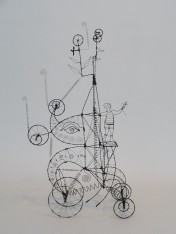033. SOMEONE I USED TO KNOW BELIEVED IN THE IDEA OF COURAGE - A Prayer Machine by JAMES PATERSON (SOLD at Spectrum Miami 2014)