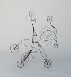 045. THE DOODLES OF MY LIFE ARE PRAYERS - A Prayer Machine by JAMES PATERSON (SOLD)