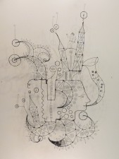 065. THE MUSIC OF MY SOUL PLAYS TO MY DESIRES - A Prayer Machine by JAMES PATERSON $1900.00