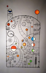 SOLD 218. The Sun Emblazoned Against My Nature's Wearied Disbelief - A Prayer Machine by JAMES PATERSON