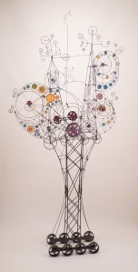Wire Sculpture #137 by James Paterson, Ontario, Canada