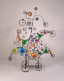 168. I Pray Out Of Curiosity - A Prayer Machine by James Paterson. 22 x 16.5 x 5 in