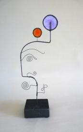 Prayer Machine 334. Joy-Wire Sculpture by James Paterson. Ontario, Canada