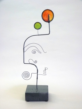 Wire Sculpture by James Paterson. Ontario, Canada