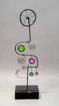 Prayer Machine 402 S 3/5. I Live Slowly - Wire Sculpture by James Paterson, Ontario, Canada