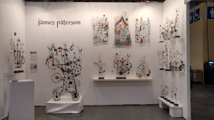 James Paterson's Booth 801 at the Artist Project 2018