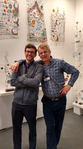 James Paterson and son Hamish, Toronto Artist Project, 2018
