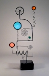 Prayer Machine 362. You Speak - Wire Sculpture by James Paterson, Ontario, Canada