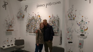 James Paterson in New York at Artexpo, April 2018