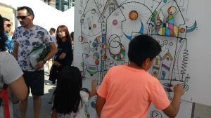 James Paterson at the Toronto Outdoor Art Fair, Nathan Phillips Square, July 6-8, 2018