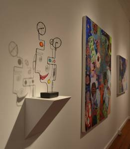 Art Show at The Laffer Gallery, Schuylerville, NY