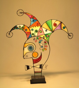 Prayer Machine 426 SOLD. Rare And Beautiful - Wire Sculpture by James Paterson, Ontario, Canada