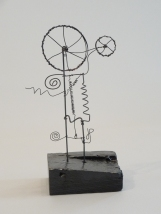 Wire Sculpture by James Paterson, Ontario, Canada, 2012