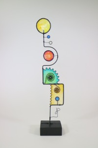Wire Sculpture #441 by James Paterson, Ontario, Canada