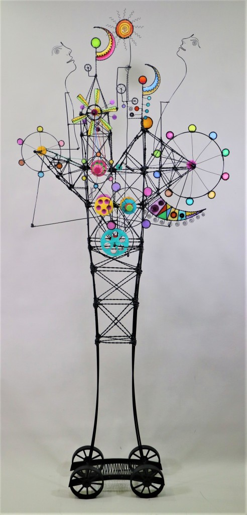 Wire Sculpture #503 by James Paterson, Ontario, Canada